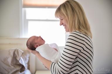 Newborn with mama 3