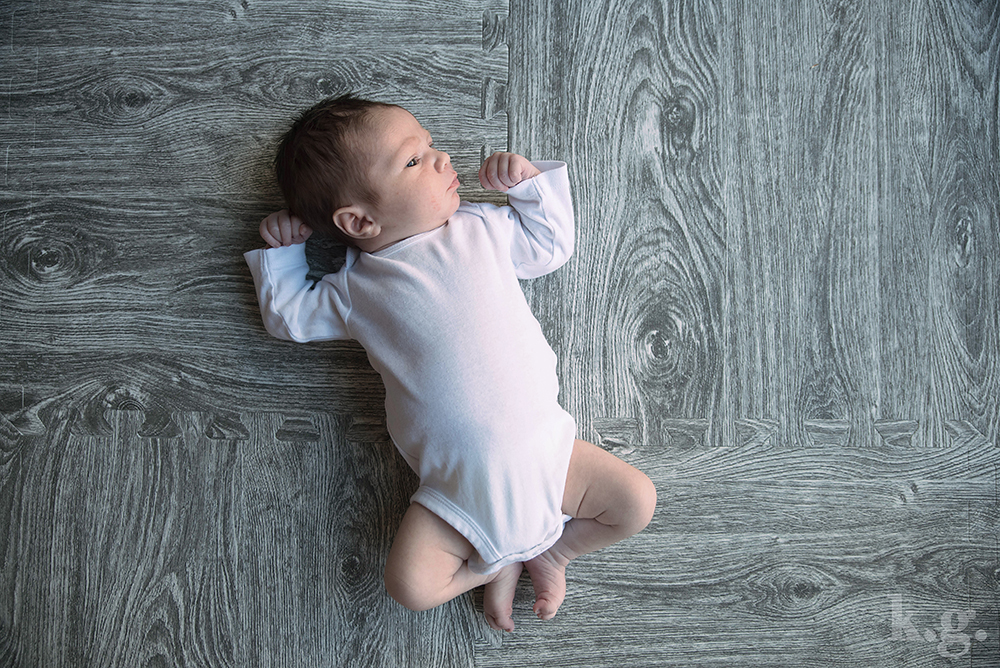 Baby W on mat 2