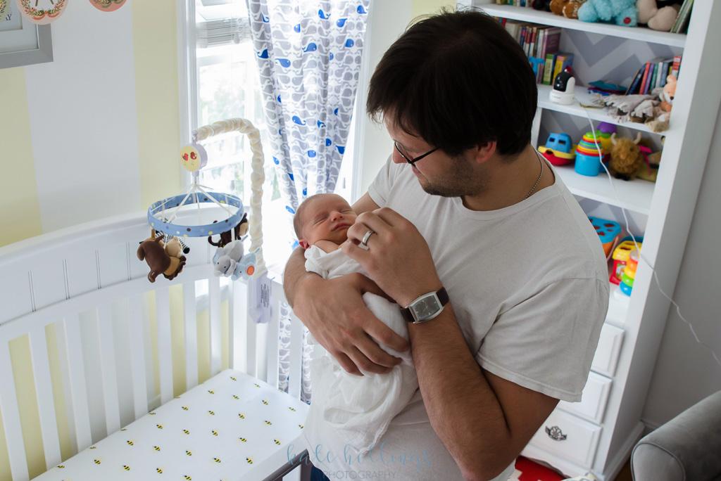 newborn boy nursery 3