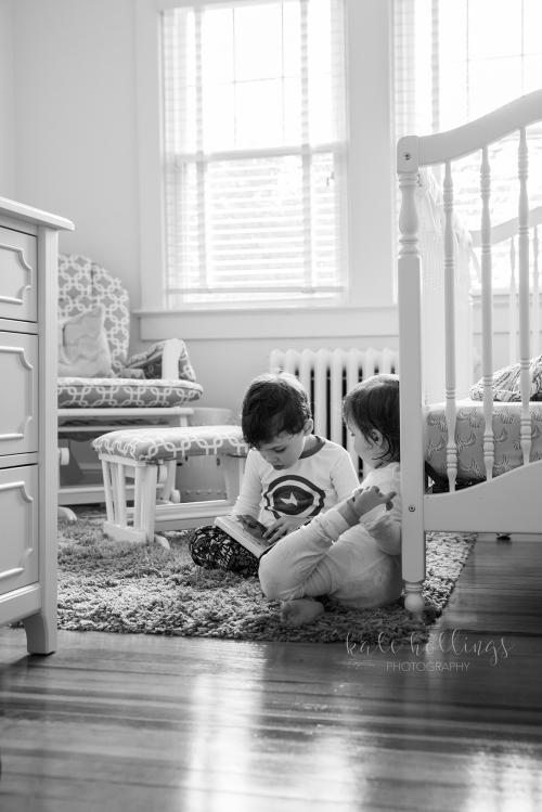 sibling storytime