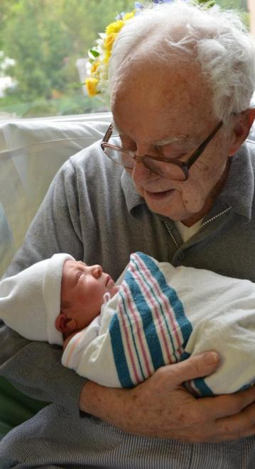 Great Grandaddy and CJ