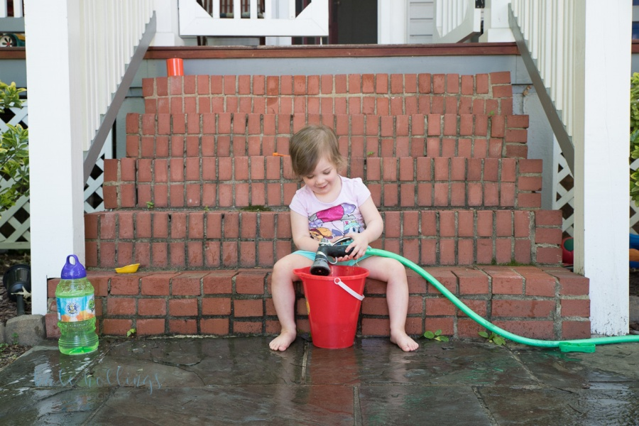 Front porch water play