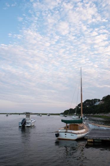 Harbor evening