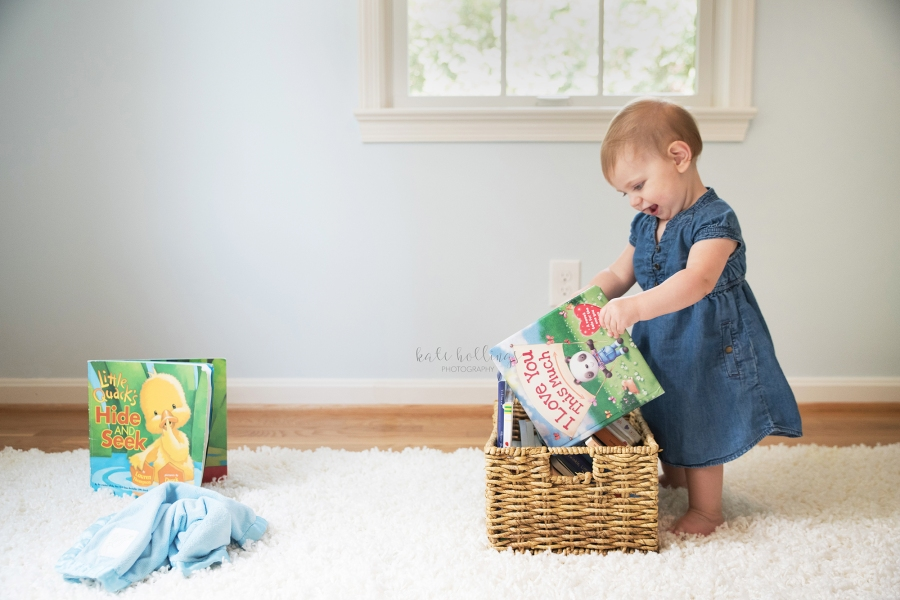 one year girl - reading
