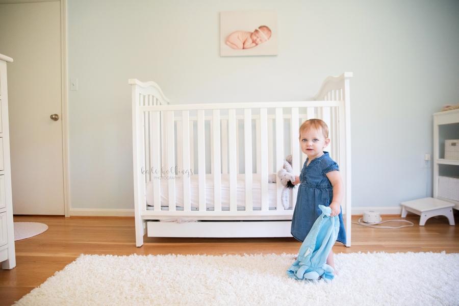 one year girl - in nursery