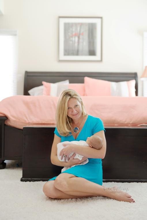 Newborn Baby Girl - with mama