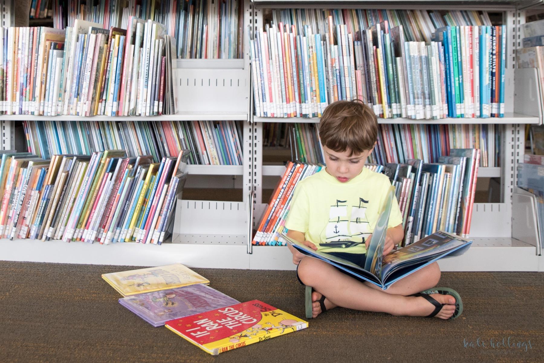 CJ in Library -1