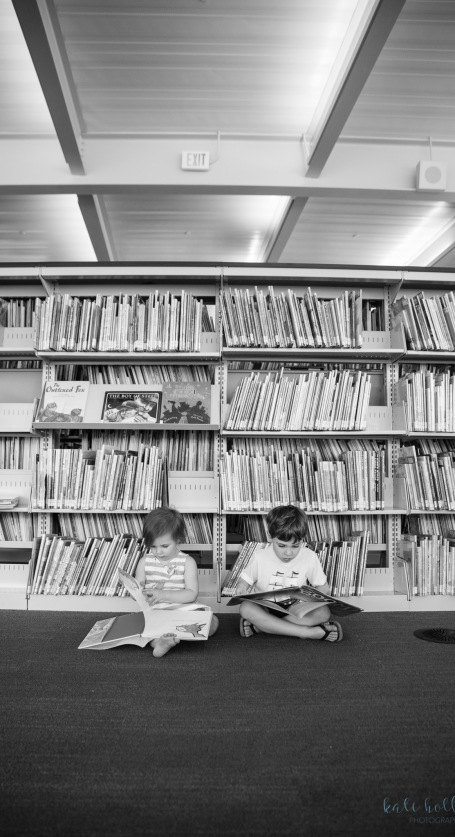 Kids in the Library - 1