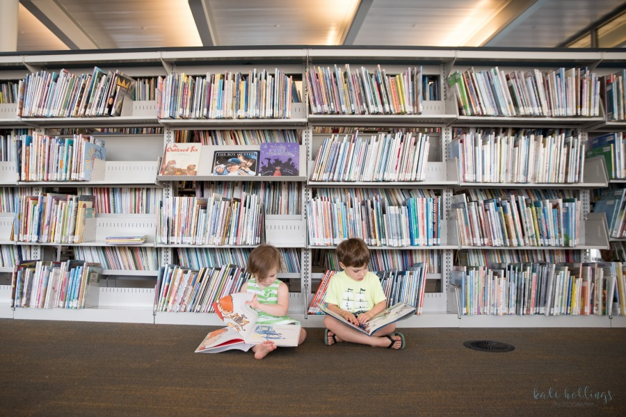 Kids in the Library - 2