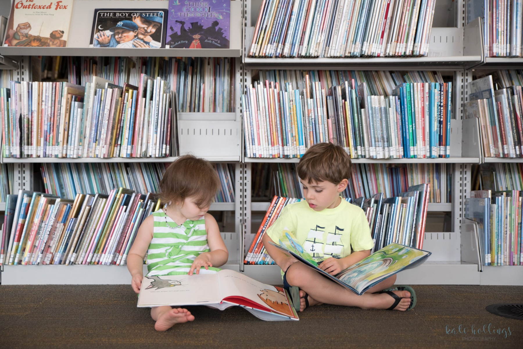 Kids in the Library - 3
