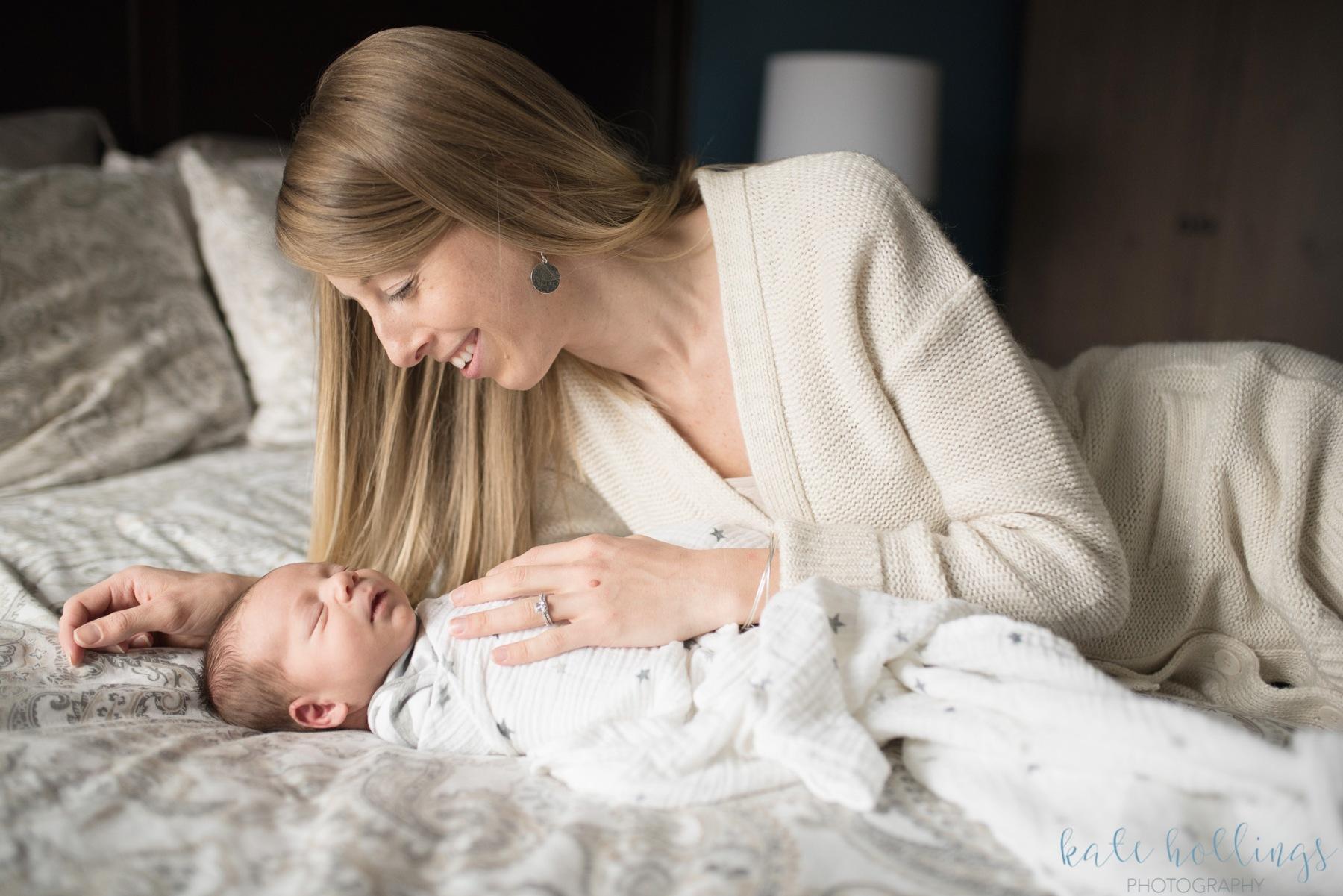 Newborn boy & mama