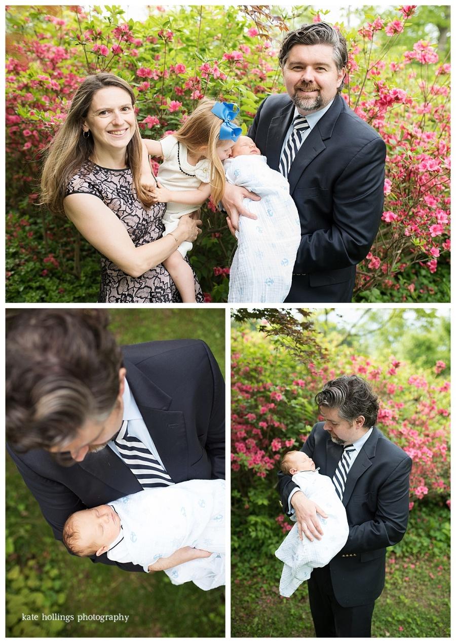 D. Family with Azaleas