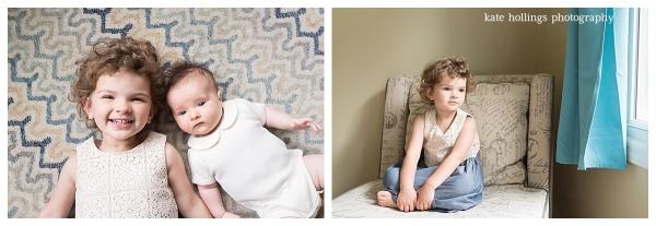 Baby B and Sister