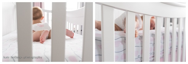 N. Family - Baby Girl in her Crib