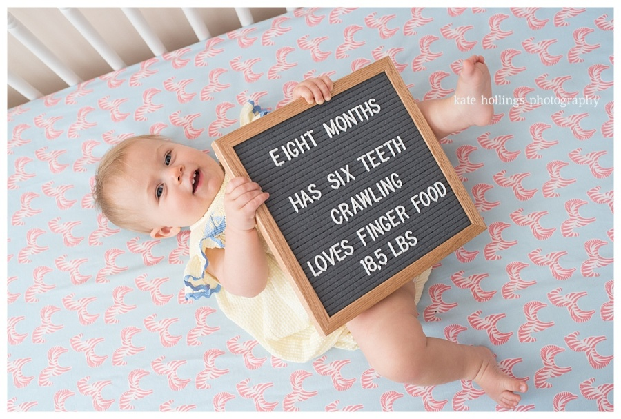 Littlest One, 8 Months Old - 1